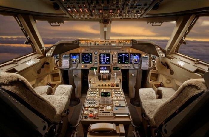 Интерьеры частных самолетов
