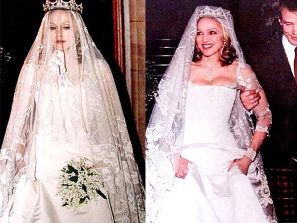 Мадонна в свадебном платье
