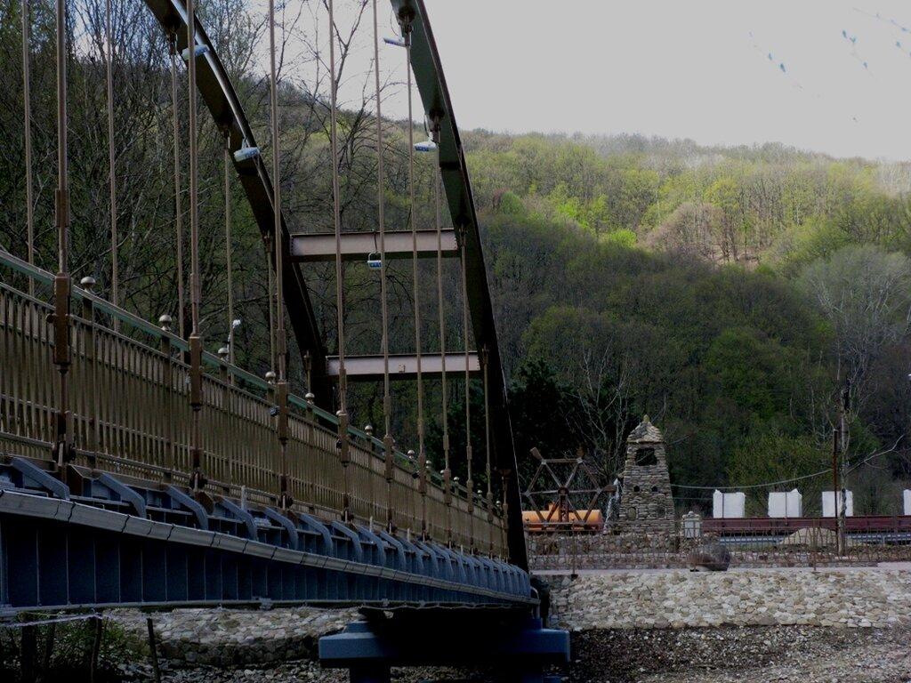 Мост Надежды - пешеходный мост через р.Псекупс