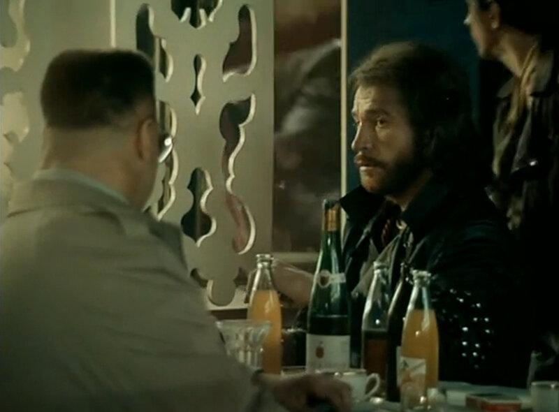 """Ресторан Джалтаранг. Кадры из фильма """"За последней чертой"""".  1991."""