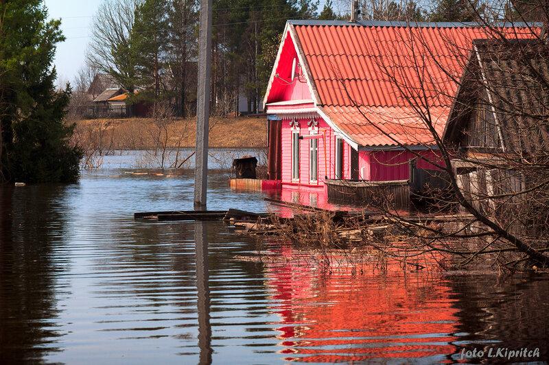 20 апреля, большая вода