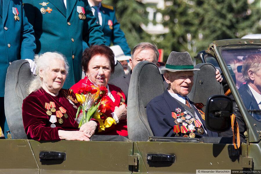 Ветераны. День Победы в Саранске