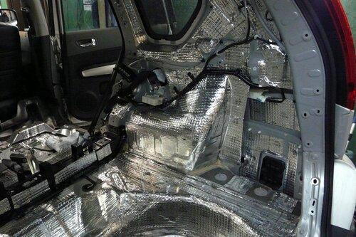 Шумоизоляция Ниссан X-Trail T-31