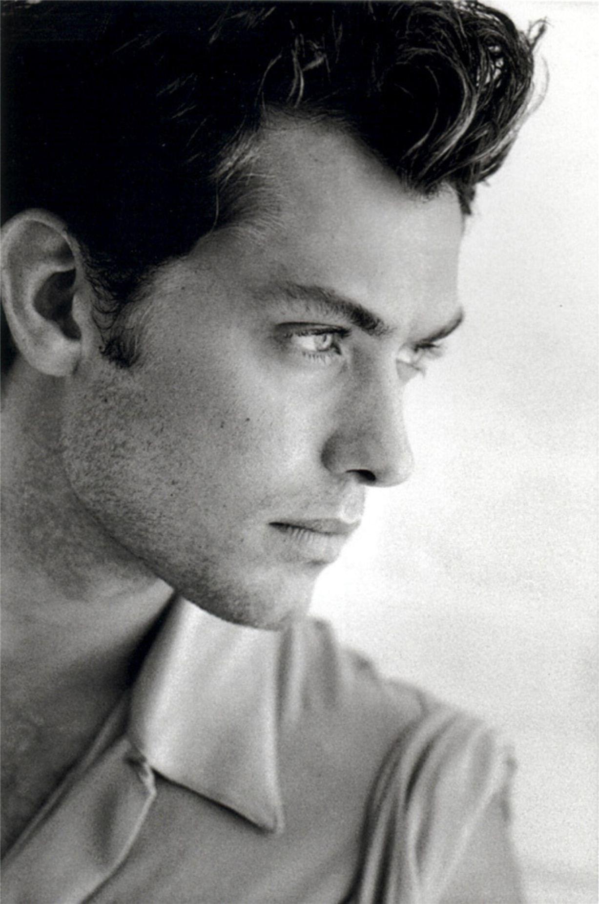 Jude Law / Джад Лоу - портрет фотографа Грега Гормана / Greg Gorman