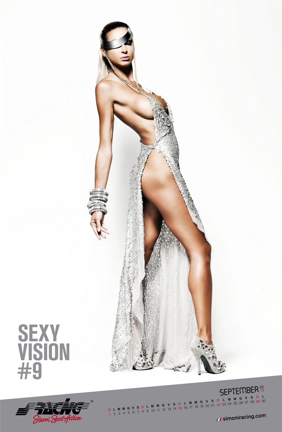 Simoni Racing - Sexy Vision эротический календарь на 2013 год