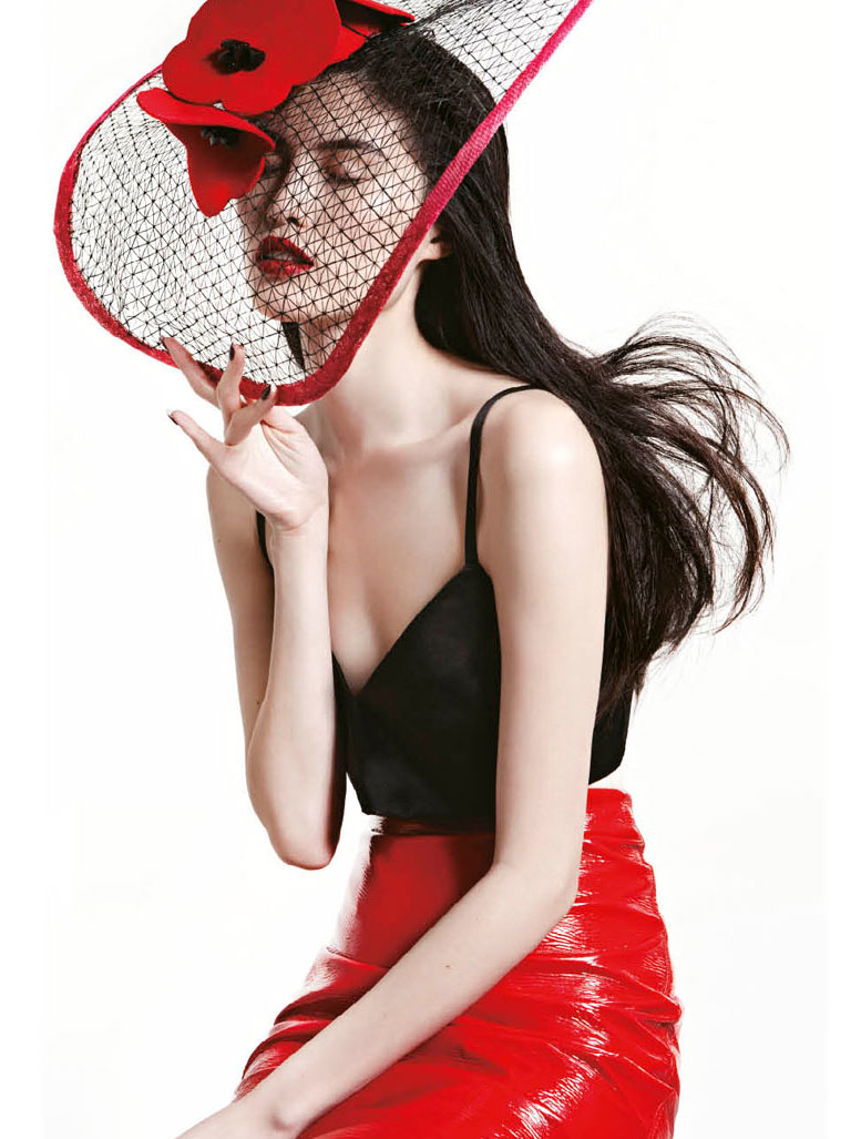 модель Сью Хи / Sui He, фотограф Mei Yuan Gui