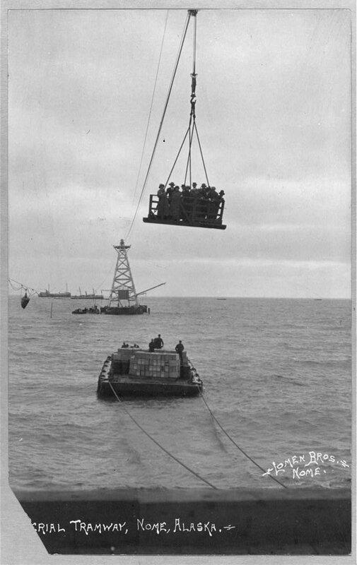 Aerial tramway.
