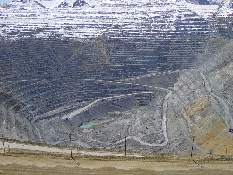 Бингем-Каньон (Bingham Canyon Mine)