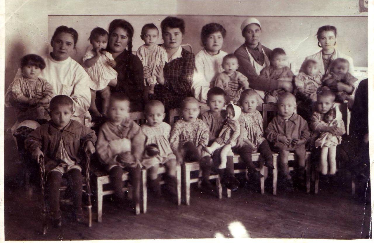 1950-е. Детский садик
