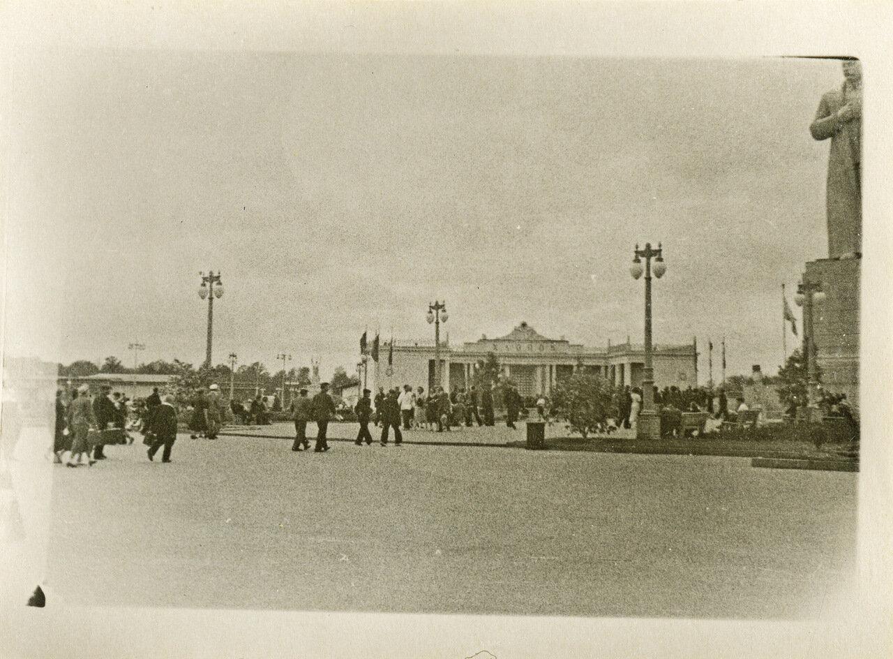 ВСХВ 1940. Павильон «Хлопок»
