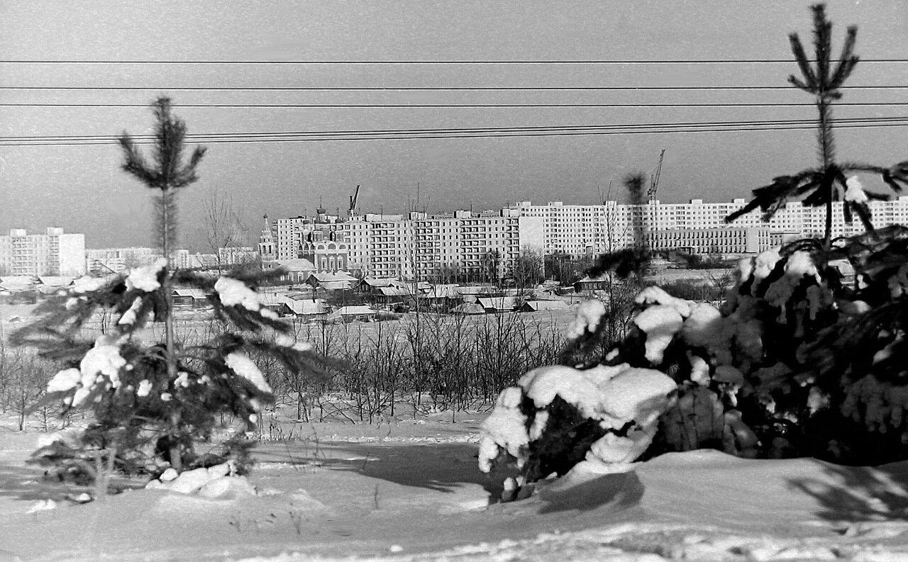 Москва, Юго-запад, примерно 1972 г.
