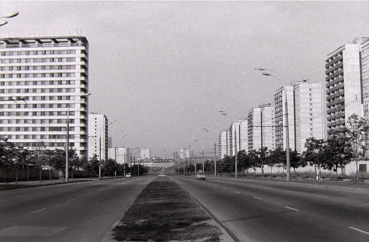 1979. Москва, Юго-запад,