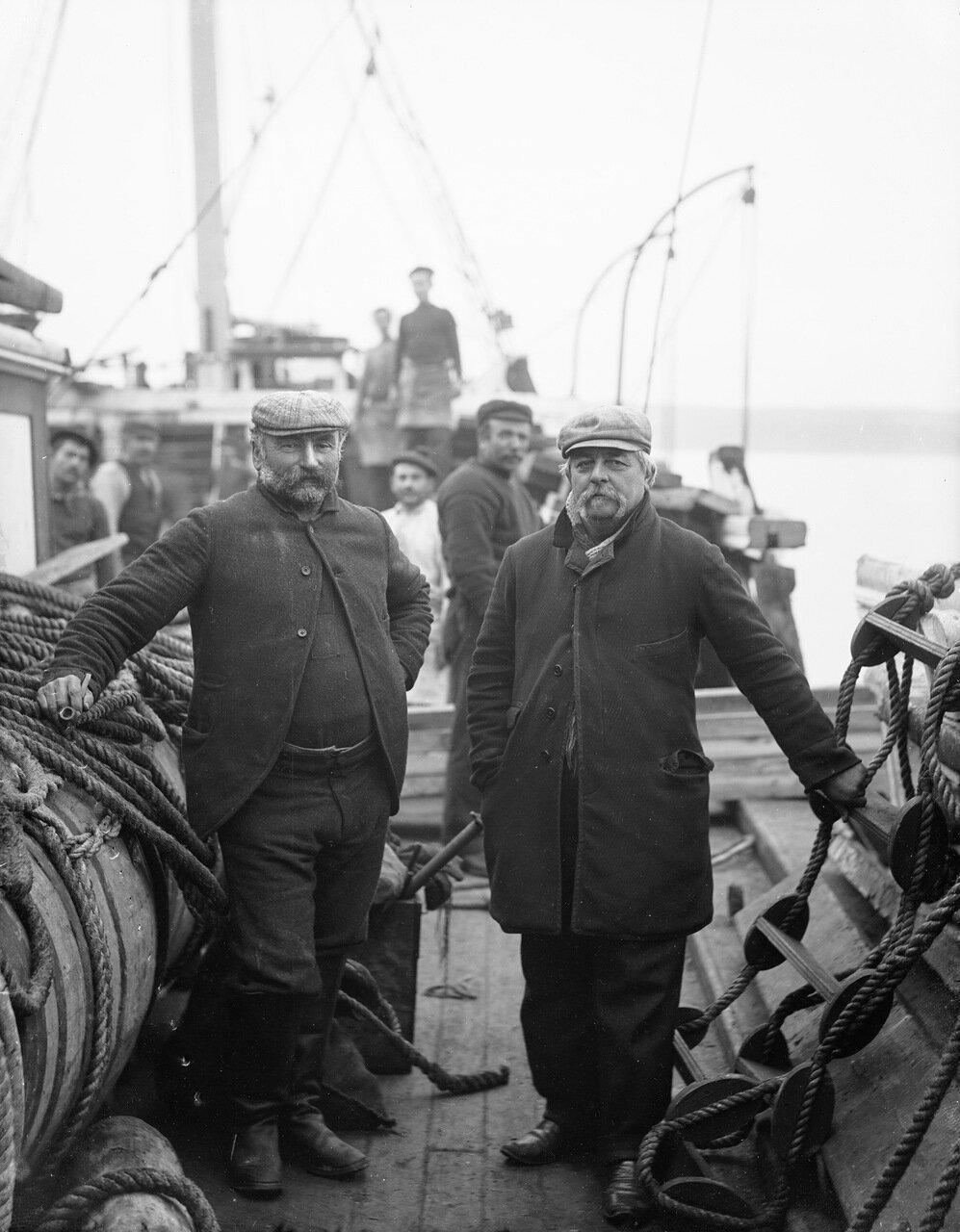 Капитан и первый помощник. 1891.