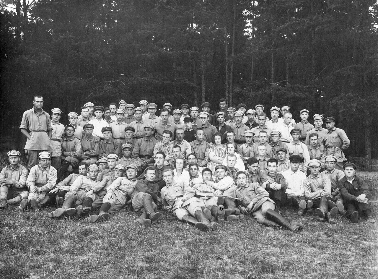 Фотография коллектива РЛКСМ 1925
