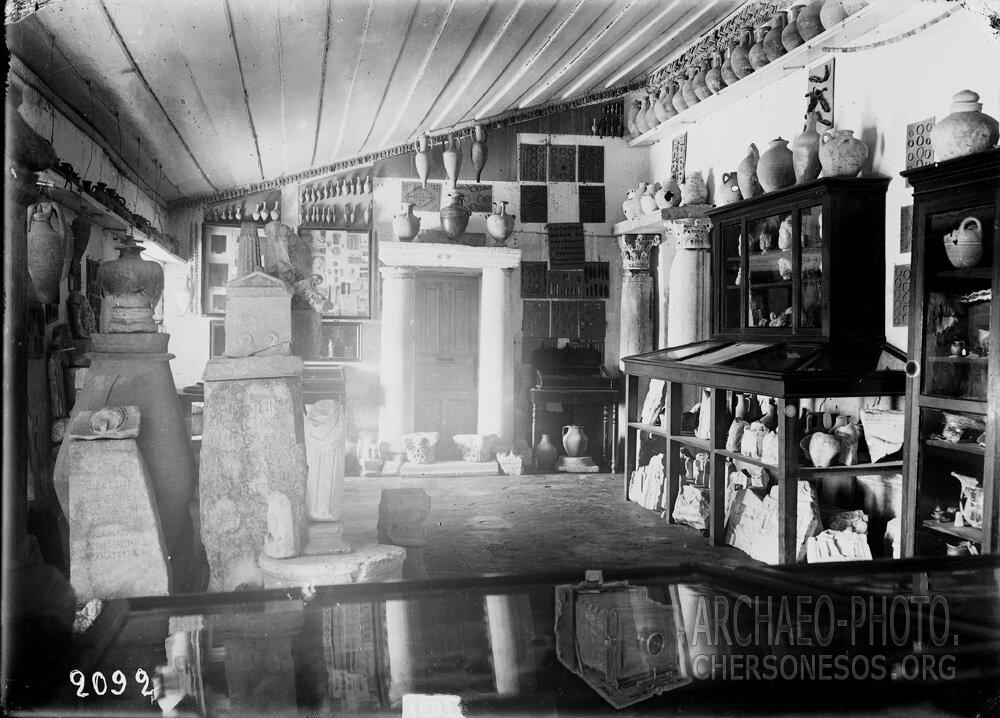 Общий вид на экспозицию музея конца 19 – начала 20 века