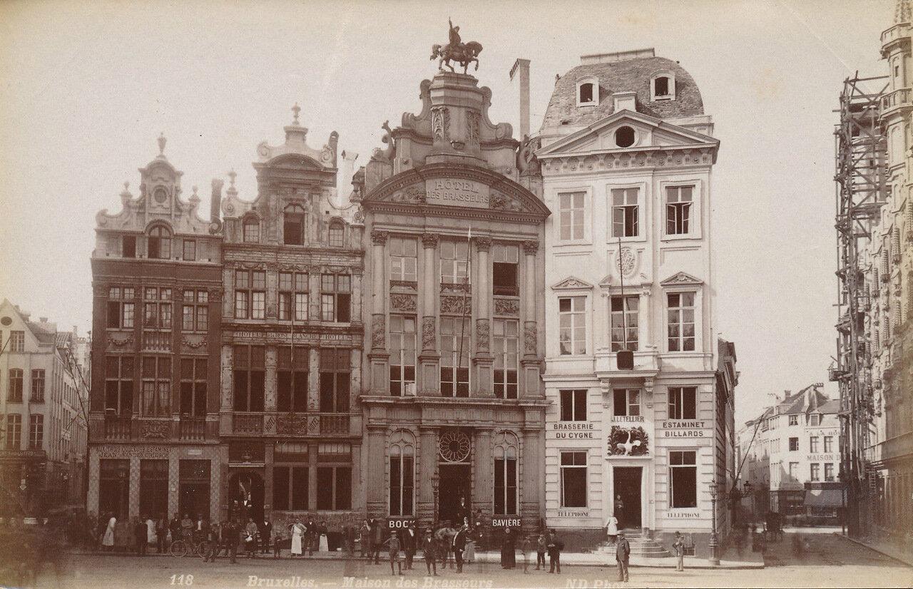Брюссель. Пивной дом. 1875