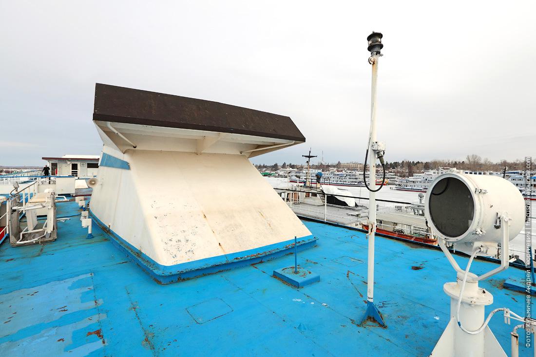 теплоход Княжна Анастасия шпионское фото подготовки к навигации