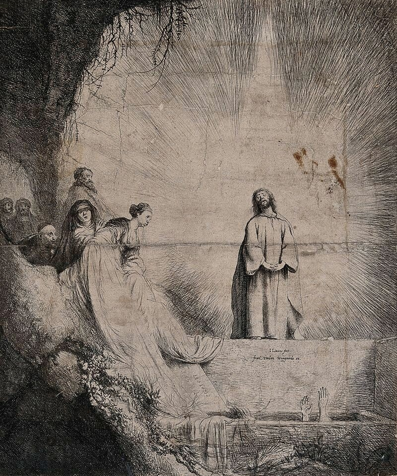 Christ,_praying_in_the_light,_raises_Lazarus_from_his_tomb__Wellcome_V00348871631.jpg