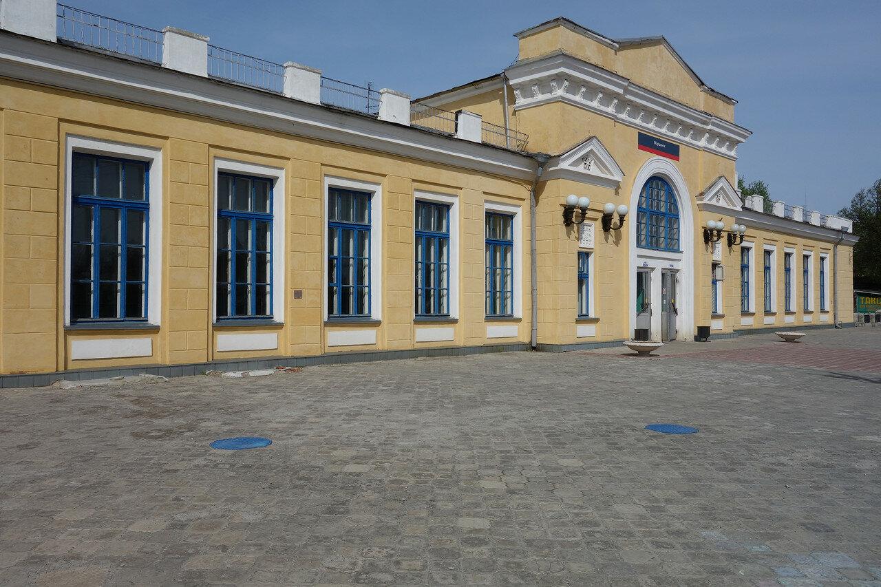вокзал ЖД станции