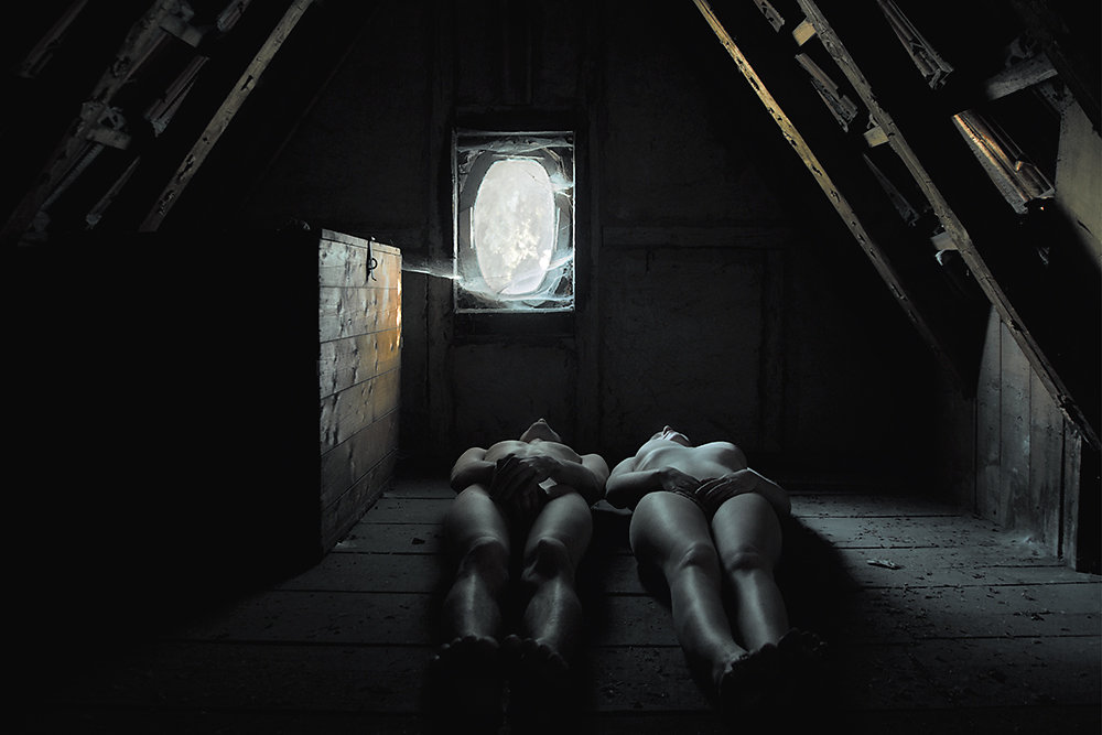 Мрачные образы на снимках Elena Helfrecht которые, работы, Работы, страшных, исследуют, такие, вопросы, феминизма, вариации, определения, понятий, женственности, мужественности, также, смысл, басен, умершая, сказок, множество, птица