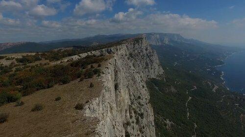Крымские места с высоты птичьего полета