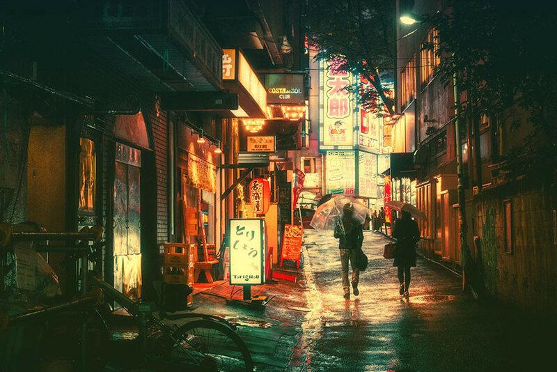 ночной Токио Masashi Wakui