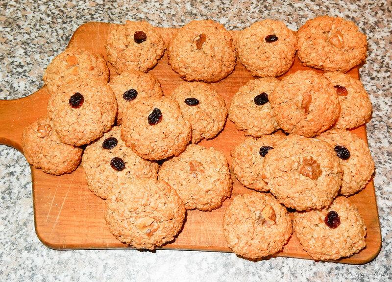 Печенье простой в духовке