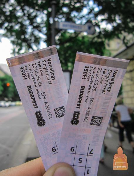 Разовый билет на проезд