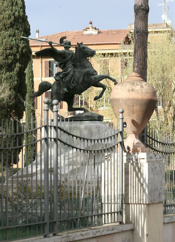 Рим. Парк Вилла Паганини (Villa Paganini)