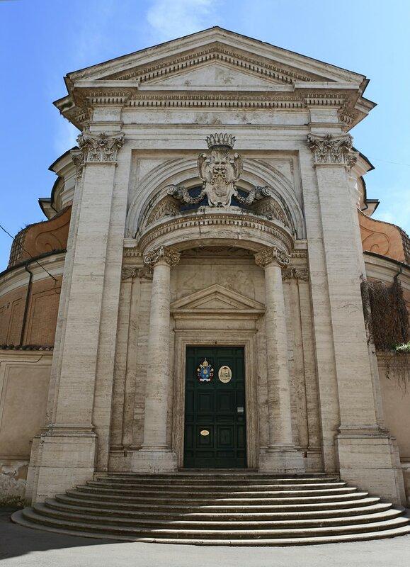 Рим. Церковь Сант-Андреа-аль-Квиринале (Chiesa Sant'Andrea al Quirinale)