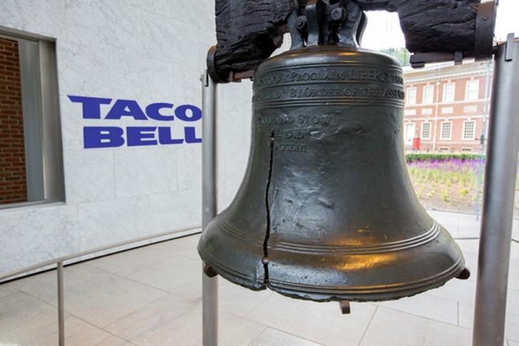3. Taco Bell покупает колокол Свободы 1 апреля 1996 года американская компания фастфуда Taco Bell ош