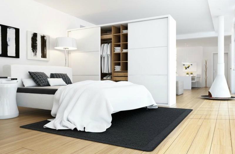 Белый цвет в интерьере спальни фото (13)