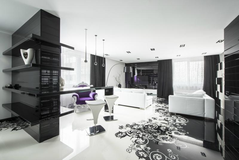 Черный цвет в дизайне интерьера фото 4