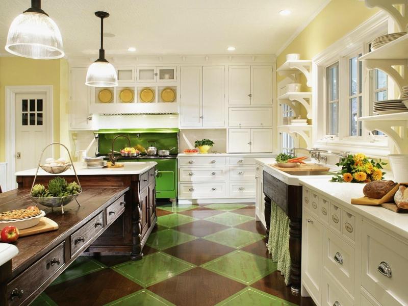 Дизайн кухни в светлых оттенках фото 5