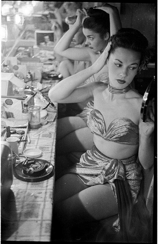 Танцовщицы в клубе «Копакабана», 1948 год