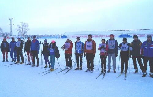 Лыжные гонки, спартакиада