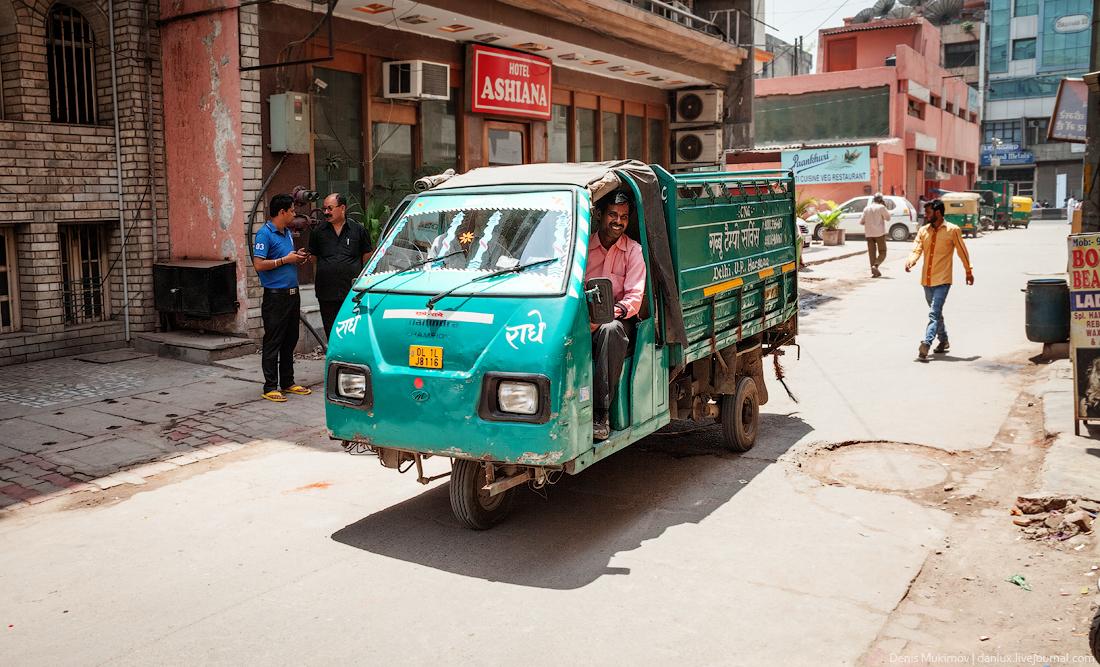 Индийский транспорт (39 фото)