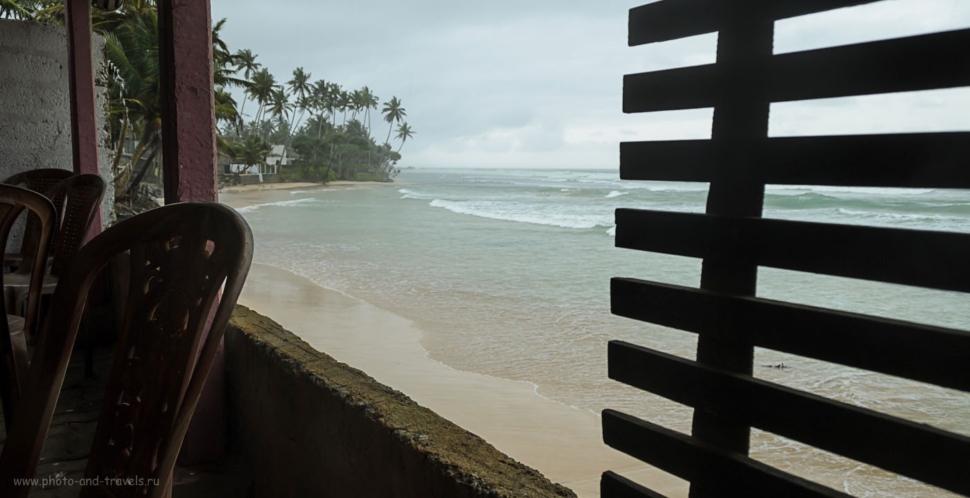 Фото 15. На берегу Индийского океана на Шри-Ланке. По дороге из форта Галле в Тиссамахараму. Приключения на острове в мае.