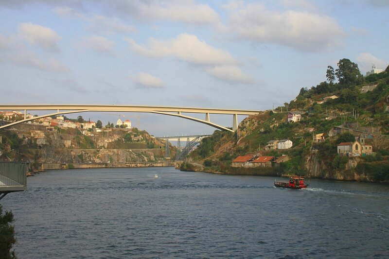 Порту, река Дору (Porto, the Douro River)