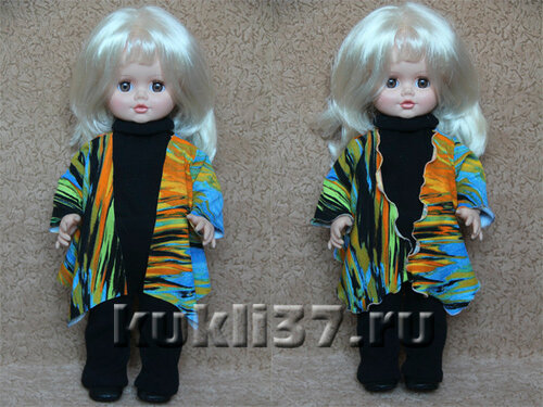 кардиган для куклы