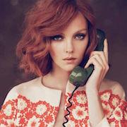 Разговаривать любимым человеком телефону