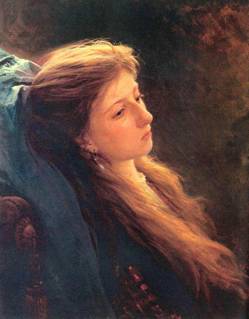 Девушка с распущенной косой, 1873 kramskoy 3.jpg
