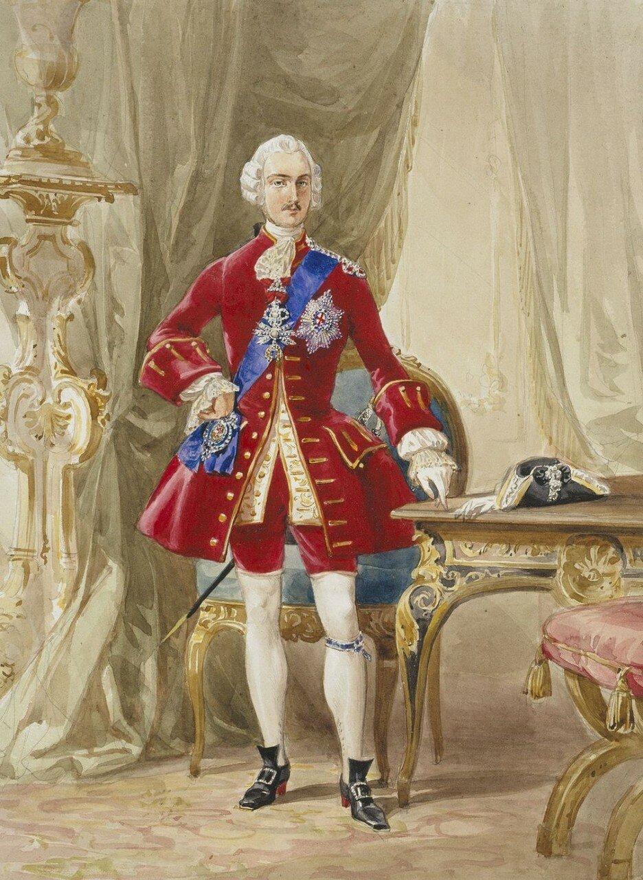 Принц Альберт в костюме для бала 1745