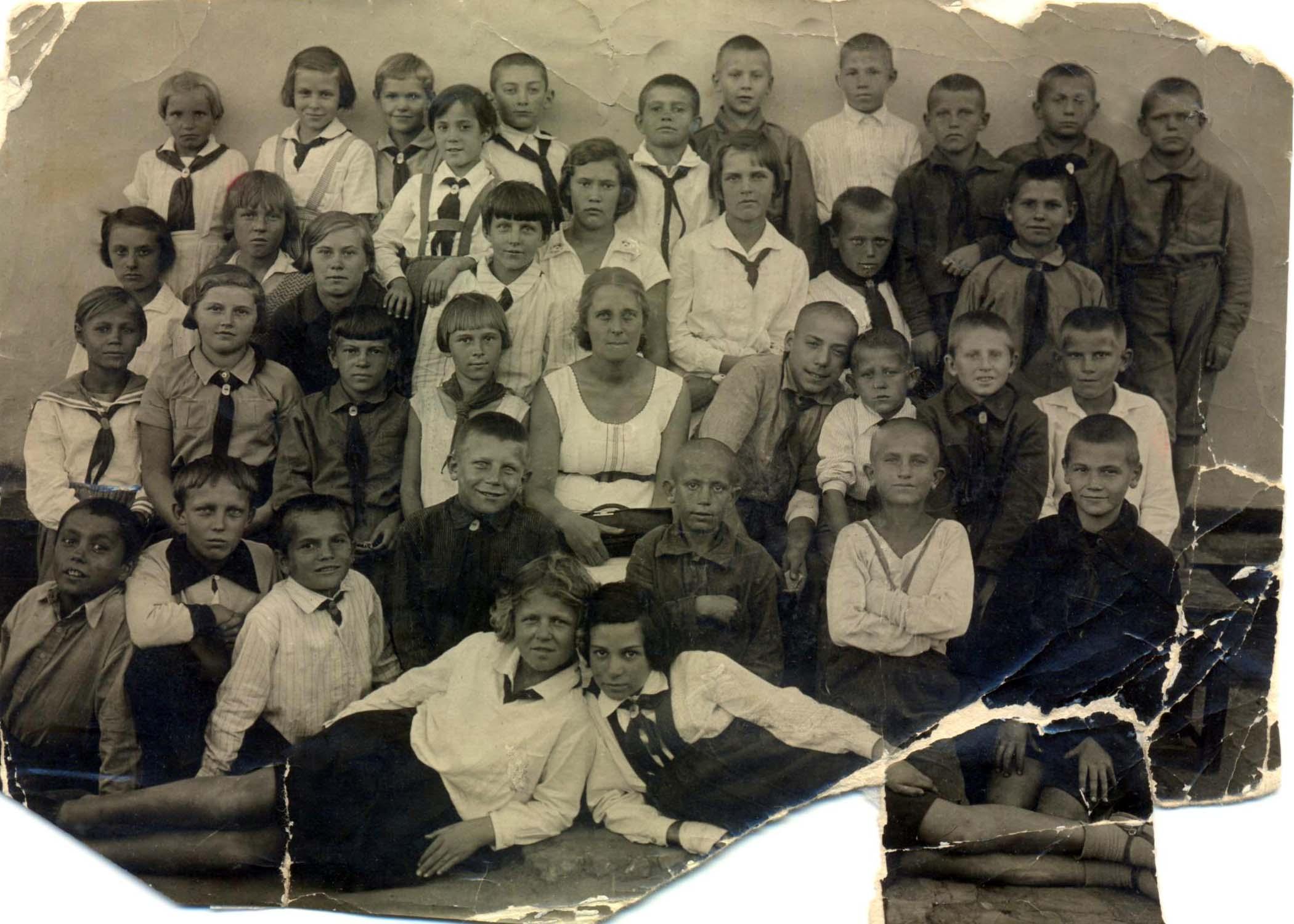 26. Рутин класс. 1935-36 учебный год