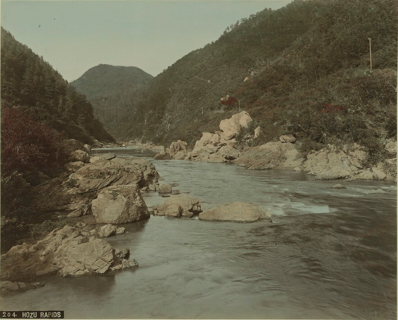 На реке Хозу