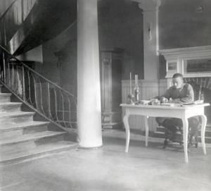 41. 1915. Интерьер дома, занимаемого штабом 46-й пехотной дивизии.Июнь.Яновец-на-Висле