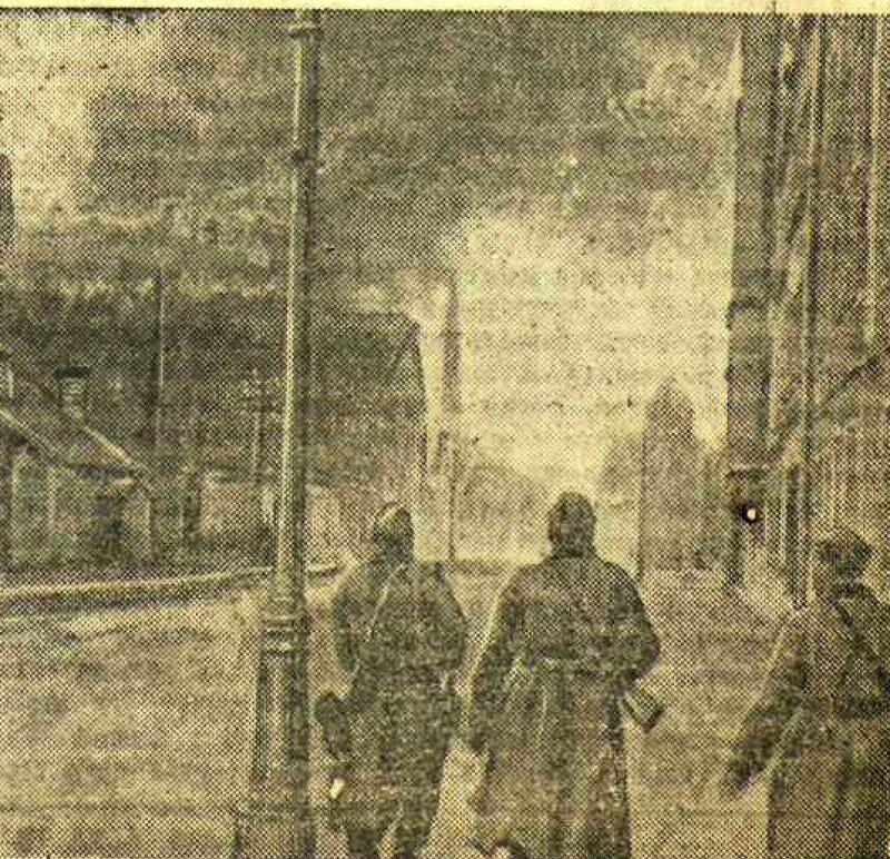 «Красная звезда», 15 октября 1944 года, В ОСВОБОЖДЕННОЙ РИГЕ, оккупация Риги, освобождение Риги