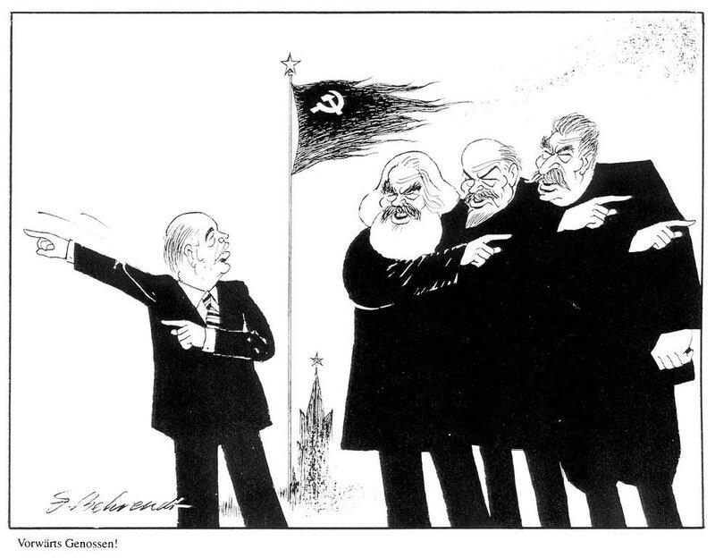Михаил Горбачев, развал СССР, перестройка, гласность