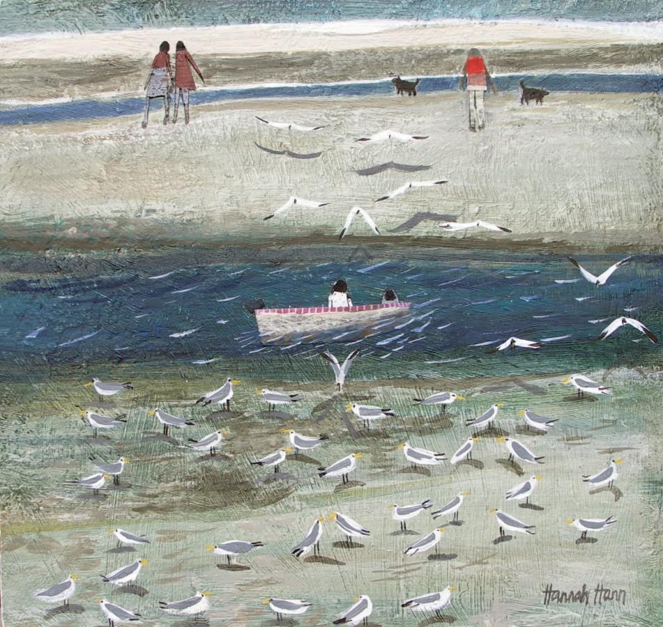 Воображение свободно, как птица и просторно, как море