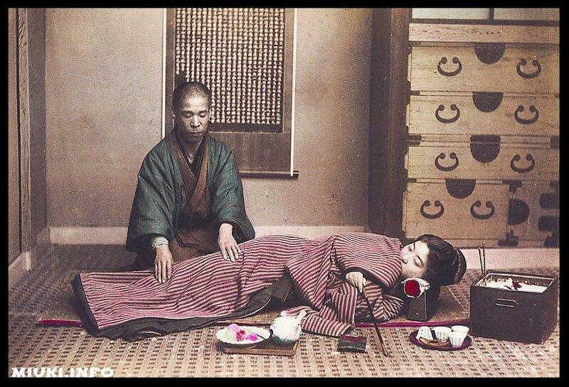 Древнеяпонская практическая терапия шиацу, как способ усиления мужской силы